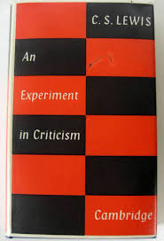An Experiment in Literary Criticism